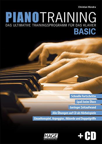Wondra, Christian - Piano Training Basic (+CD) : für Klavier