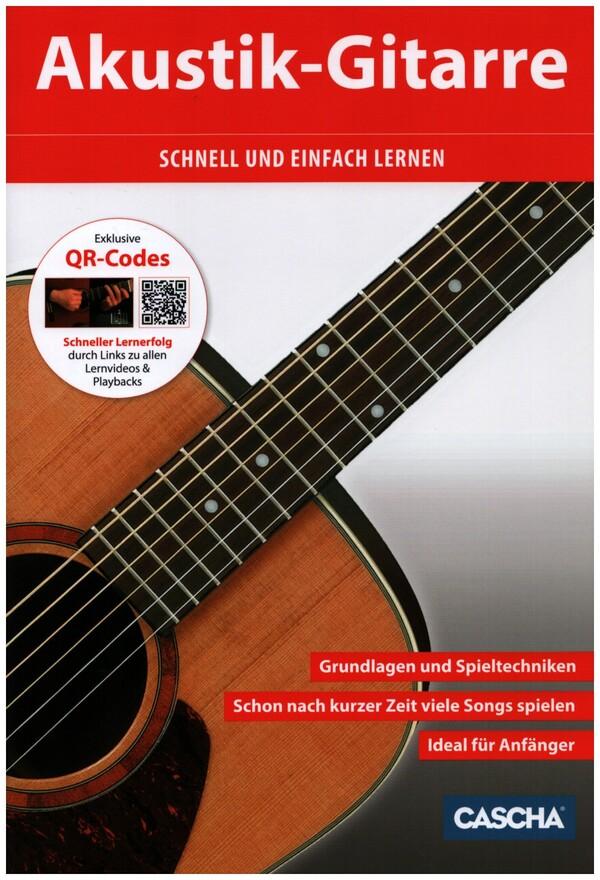 akustik gitarre schnell und einfach lernen cd dvd f r gitarre im notenshop von bartels. Black Bedroom Furniture Sets. Home Design Ideas