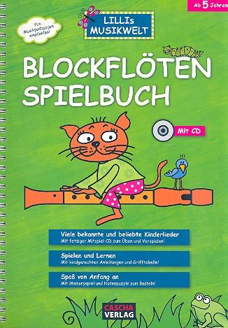 Blockflöten-Spielbuch (+CD): Bekannte und beliebte Kinderlieder