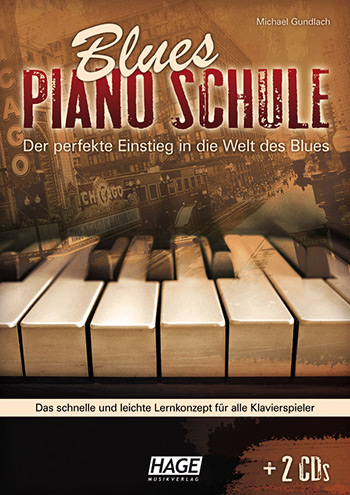 Blues-Piano-Schule (+2 CD\