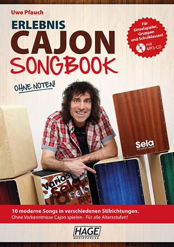 Erlebnis Cajon - Songbook (+MP3-CD)