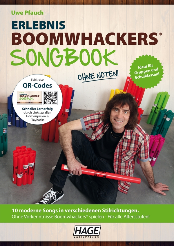 Erlebnis Boomwhackers - Songbook (+MP3-CD)