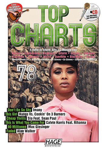 - Top Charts Band 78 (+CD) :