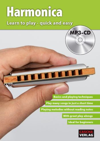 HH1602 Learn to play quick and easy (+MP3-CD): for harmonica (en)