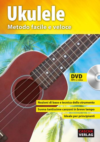 HH1304IT Ukulele - Metodo facile e veloce (+DVD) per ukulele/tab (it)