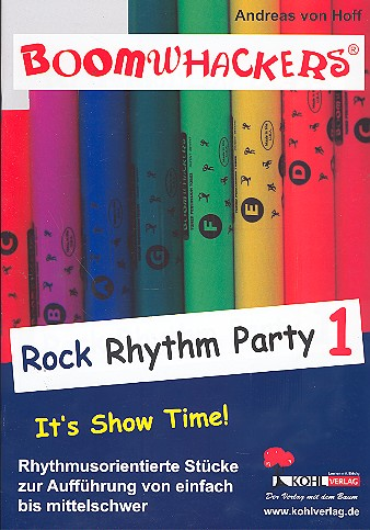 Boomwhackers: Rock Rhythm Party vol.1