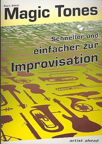 Schütt, Paul L. - Magic Tones (+CD) :