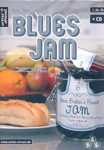 Blues Jam (+CD): für C-, B- und Es-Instrumente