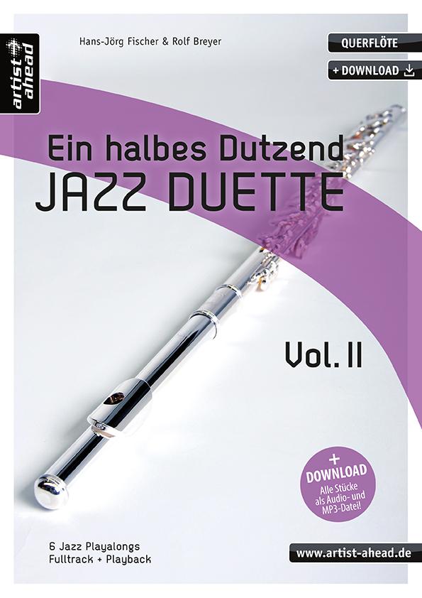 Ein halbes Dutzend Jazzduette Band 2 (+CD): für 2 Flöten