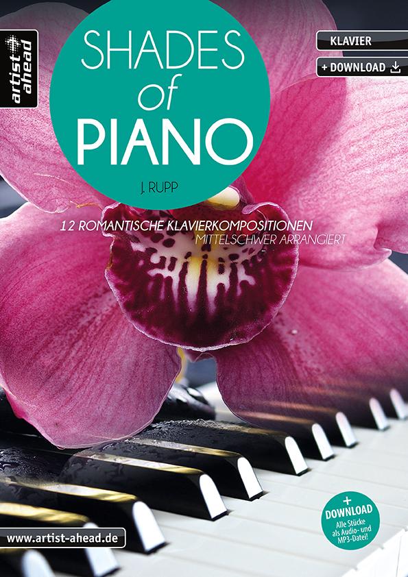 Rupp, Jens - Shades of Piano (+CD)