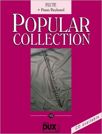 Popular Collection Band 10: für Flöte und Klavier