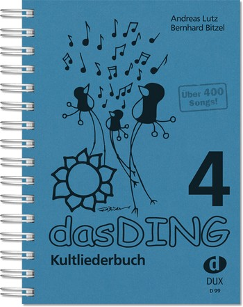 Das Ding Band 4 : Kultliederbuch Songbook Texte/Akkorde  - Coverbild-Thumbnail