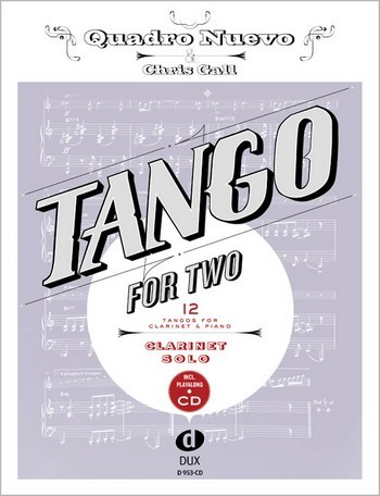 Tango for two (+CD): für Klarinette