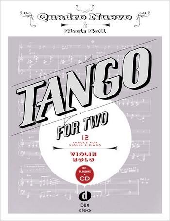 Tango for two (+CD): für Violine