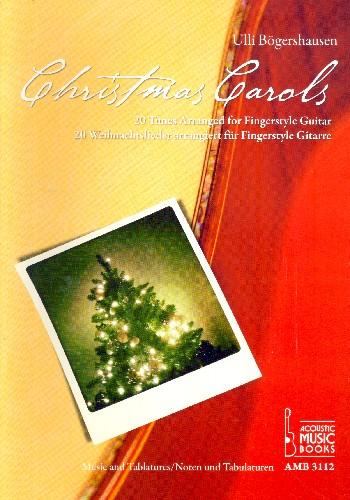 Christmas Carols: für Gitarre (mit Tabulatur)