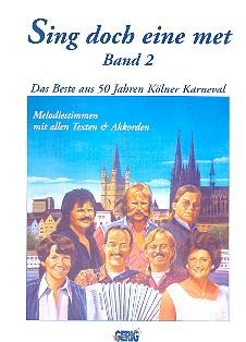 Sing doch eine met Band 2: Das beste aus 50 Jahren Kölner Karneval