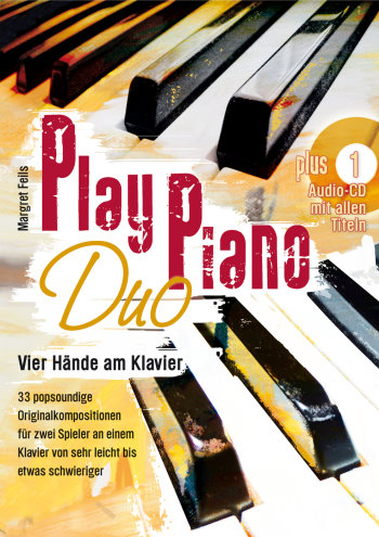 Feils, Margret - Play Piano Duo (+CD) :
