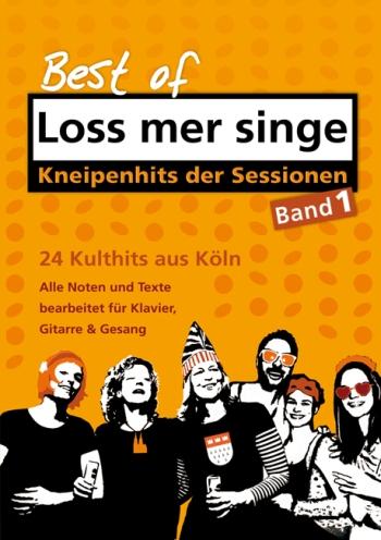 Best of Loss mer singe Band 1: für Gesang, Klavier (Gitarre)