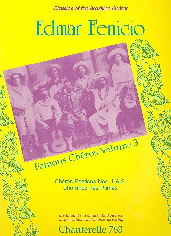 3 famous choros: for guitar solo