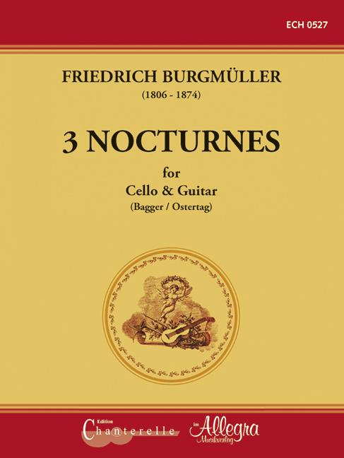 3 Nocturnes: für Violoncello und Gitarre