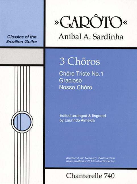 3 choros: für Gitarre