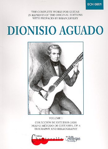 Aguado, Dionisio - Complete Works for guitar vol.1 :