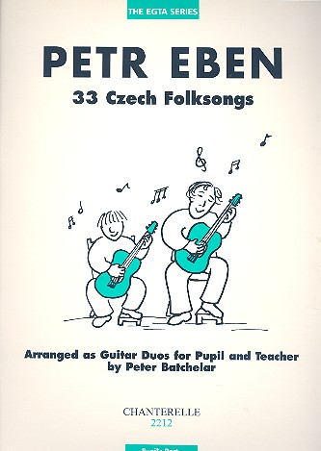 33 Czech Folksongs for 2 guitars: Pupil\