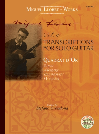 Guitar Works vol.4 - Transcriptions  and  Cuadrat d'or : - Vollanzeige.