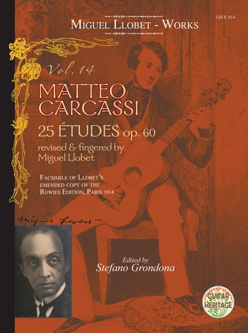 Guitar Works vol.14 - Matteo Carcassi 25 Études op.60 : - Vollanzeige.