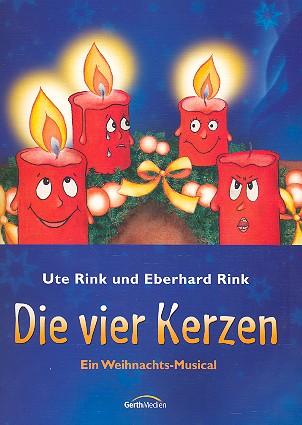 Die vier Kerzen: für Sprecher, Kinderchor und Klavier