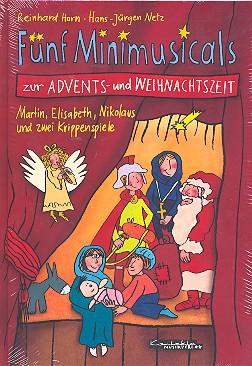 5 Mini-Musicals zur Advents- und Weihnachtszeit: Liederheft