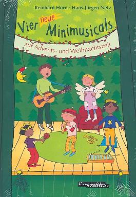 4 neue Minimusicals zur Advents- und Weihnachtszeit: Buch