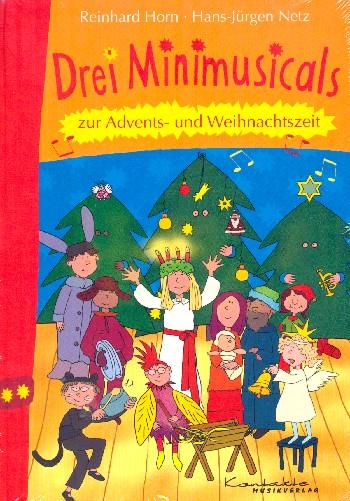 3 Minimusicals zur Advents- und Weihnachtszeit: Buch