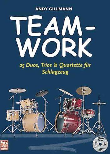 Teamwork (+CD): 25 Duos, Trios und Quartette für