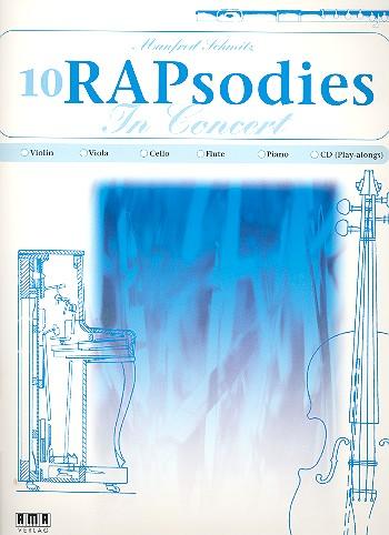 10 RAPsodies in Concert (+CD): für Violine und Klavier