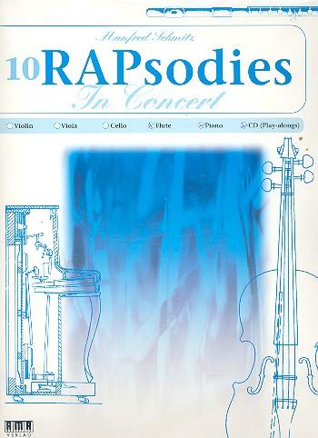 10 RAPsodies in Concert (+CD): für Flöte und Klavier