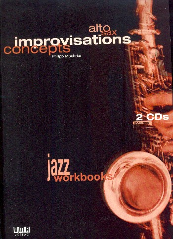 Alto Sax Improvisations Concepts (+2CD\