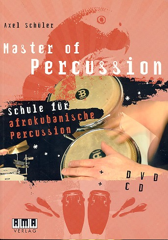 Schüler, Axel - Master of Percussion (+CD +DVD) :