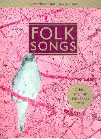 Chorbuch Folk Songs (+CD):