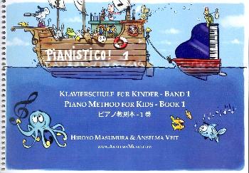 Pianistico Band 1: für Klavier (dt/en/jap)