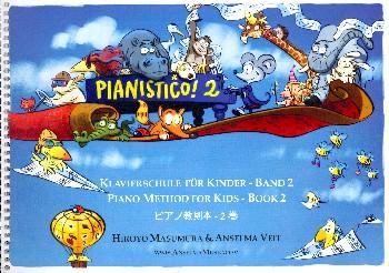 Pianistico Band 2: für Klavier (dt/en/jap)