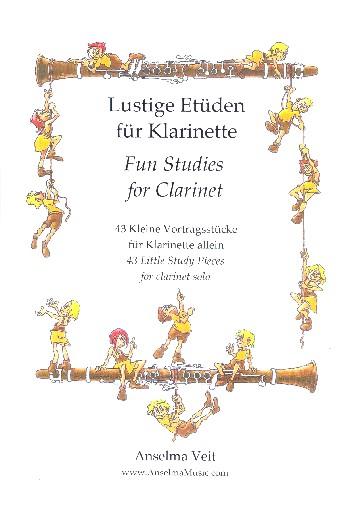 Lustige Etüden: für Klarinette