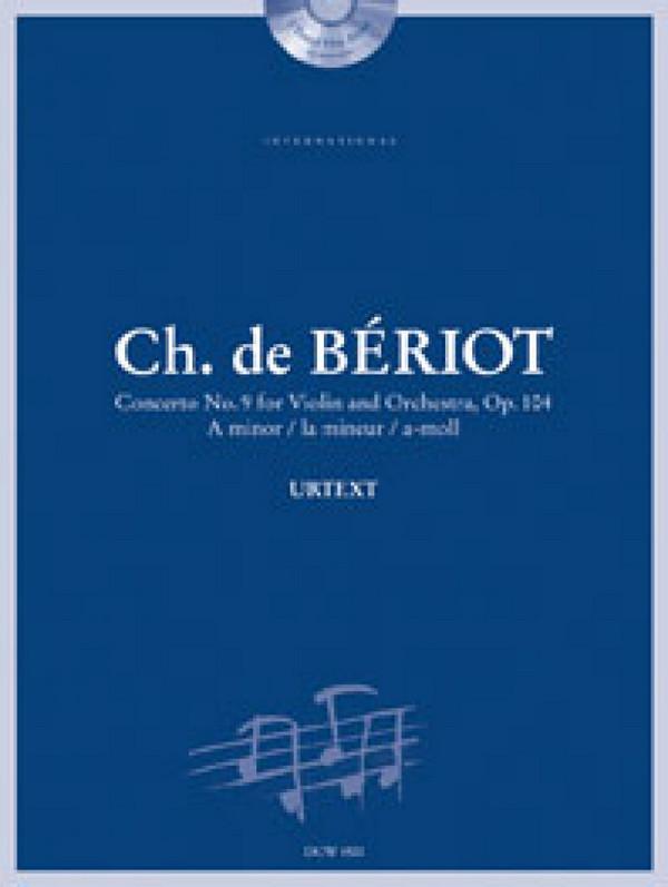 Bériot, Charles de - Concerto a-Moll op.104,9