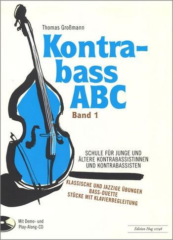 Kontrabaß-ABC Band 1 (+CD)