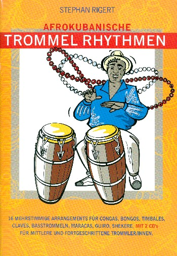 Afrokubanische Trommel-Rhythmen (+2 CD\
