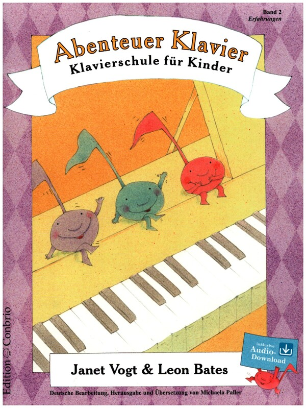 Abenteuer Klavier Band 2 (+CD): Klavierschule für Kinder