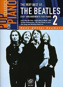 The very Best of the Beatles Band 2: Easy arrangaments for piano