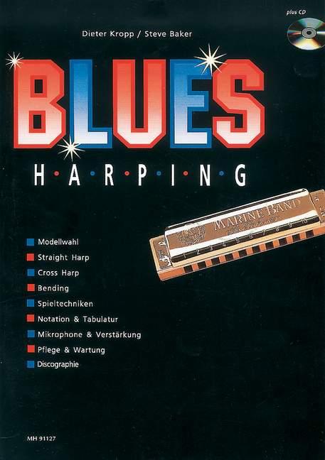 Blues Harping Band 1 (+CD): für Mundharmonika (dt)