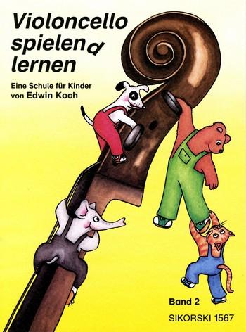 Koch, Edwin - Violoncello spielend lernen Band 2 :