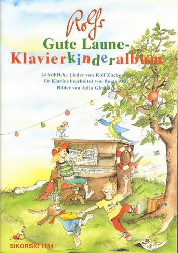 Noten für Klavier 14 bekannte Lieder Zuckowski R.- Rolfs Klavierkinderalbum